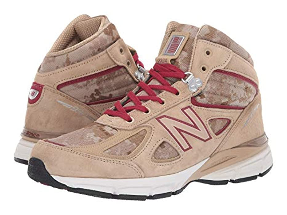 精算温かいライブ[ニューバランス] メンズランニングシューズ?スニーカー?靴 990v4 Boot Incense/NB Scarlet 11.5 (29.5cm) D - Medium [並行輸入品]