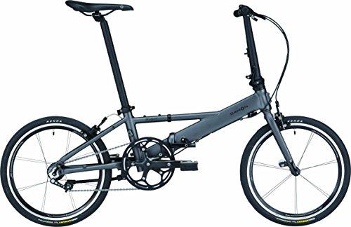 DAHON(ダホン) Helios シングルスピード 折りたたみ自転車 2017年モデル 20インチ チタン 17HELITI00
