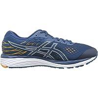 ASICS Gel-Cumulus 21 Men's Running Shoes, Mako Blue/White