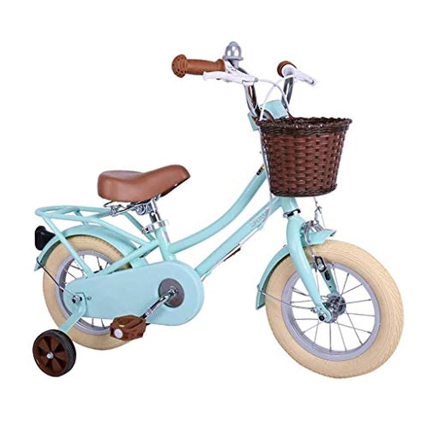 シャッター追い払う全体にLILICEN 子供自転車12インチの自転車ブルーボーイズバイクスタイリッシュ女子自転車ロードバイク学生自転車ベストギフト用キッズ(カラー:BLUE、サイズ:12インチ) ユニバーサル自転車