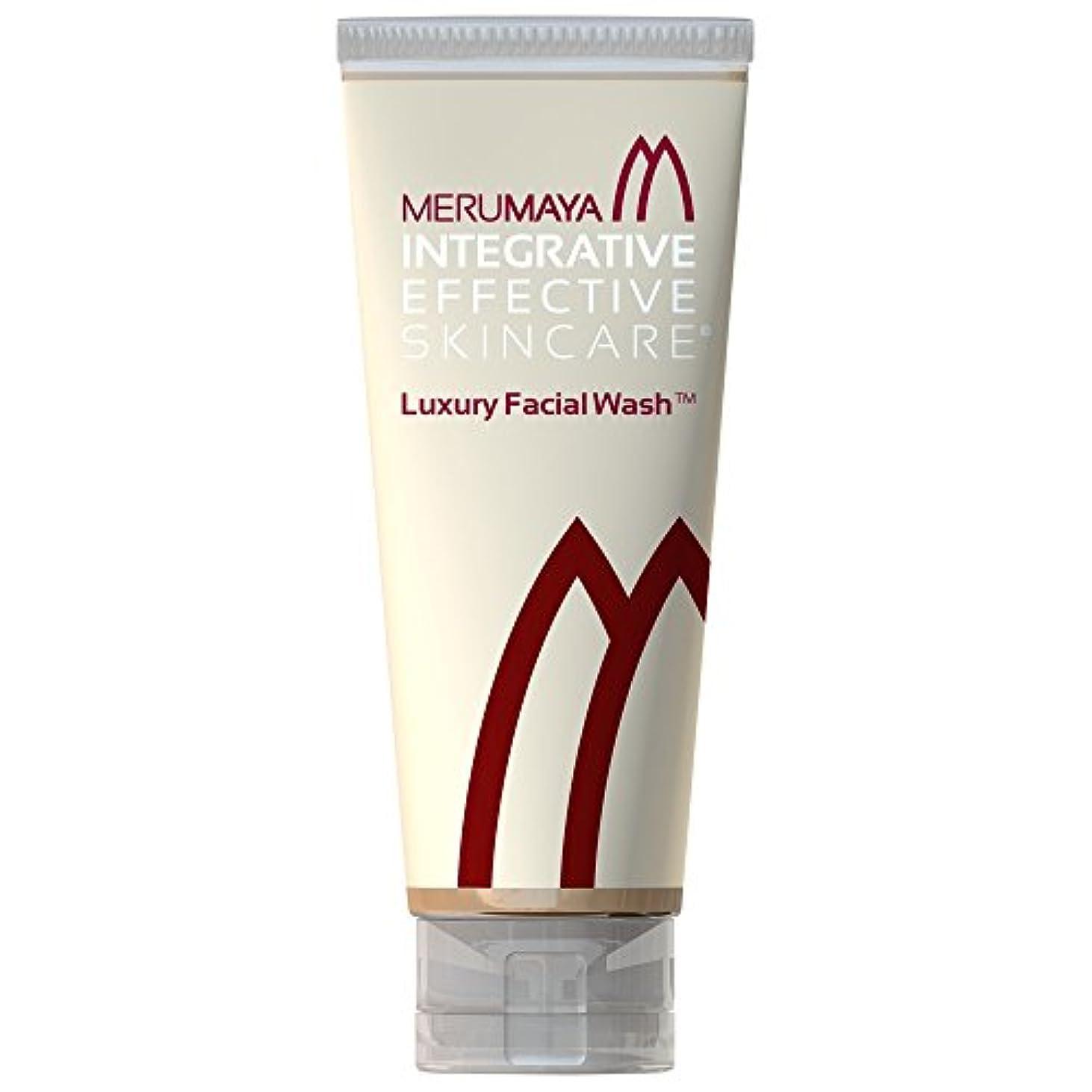 圧倒的パイント迅速Merumaya高級洗顔?、100ミリリットル (Merumaya) (x6) - MERUMAYA Luxury Facial Wash?, 100ml (Pack of 6) [並行輸入品]