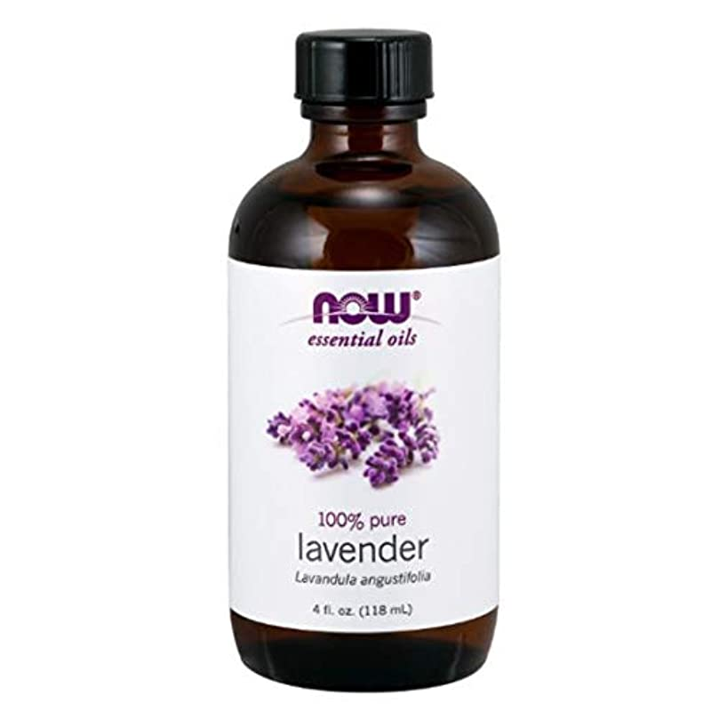 ポジティブおめでとう簡単にNow - Lavender Oil 100% Pure 4 oz (118 ml) [並行輸入品]