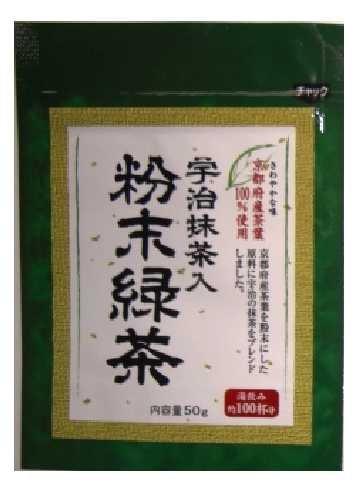 明和 宇治抹茶入 粉末緑茶 50g×6