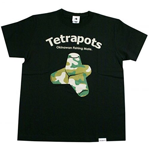Tetrapots(テトラポッツ) Tetrapots CAMO-T TPT-002 ブラック XL