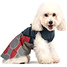 Marvel Comics Captain America Costume for Dogs, | Halloween Costume for All Medium Size Dogs
