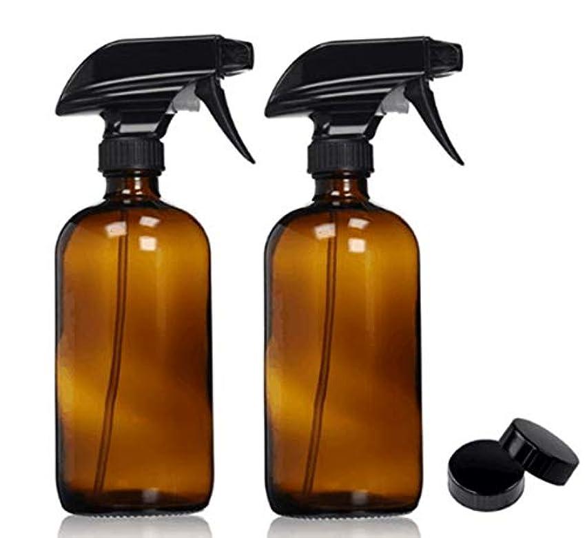 MYHO スプレーボトル 4個セット 500ml 遮光スプレー ハンドスプレークリアボトル 霧吹き 細かいミスト 遮光 多機能 家庭用 保湿スプレー 植物水やり