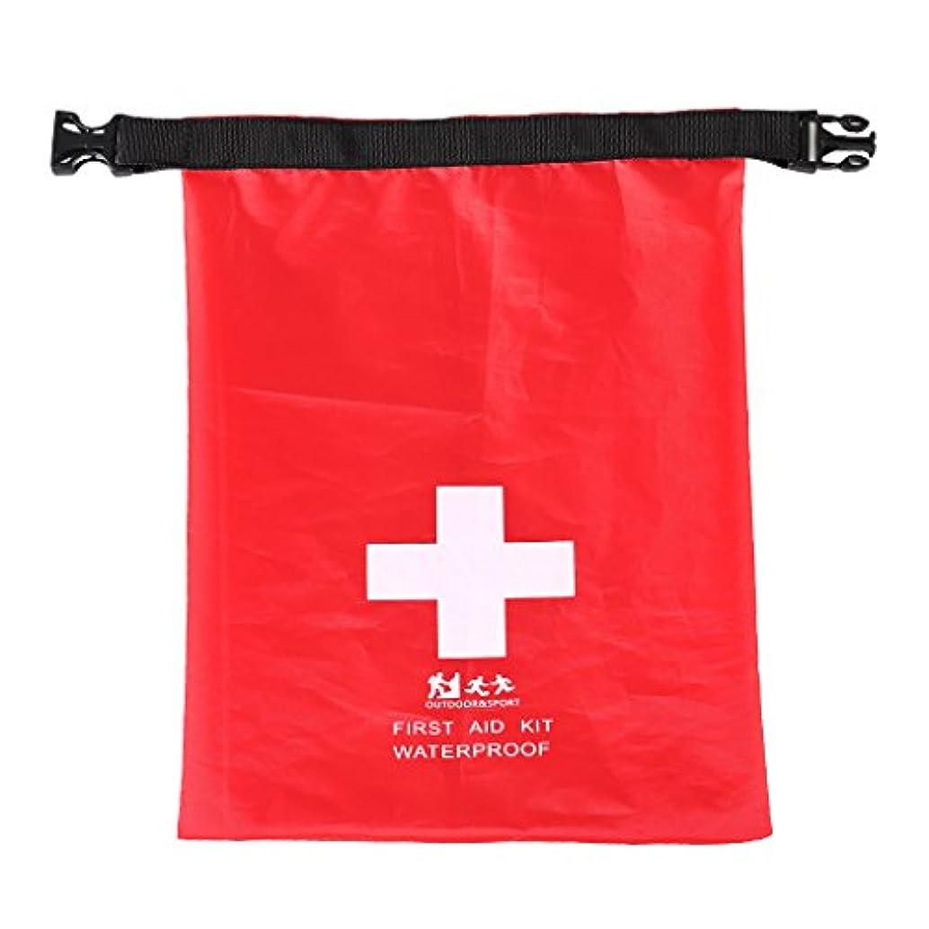 影響力のあるその結果七時半DYNWAVE 旅行キャンプ用 1.2L 防水 応急処置キット 緊急時 ドライバッグ袋