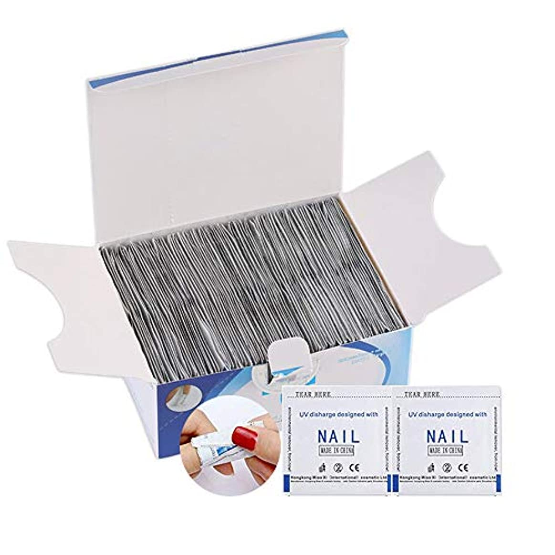蚊思想ホームレスジェルネイルリムーバー ジェルネイルオフホイル 200PCS(箱なし)