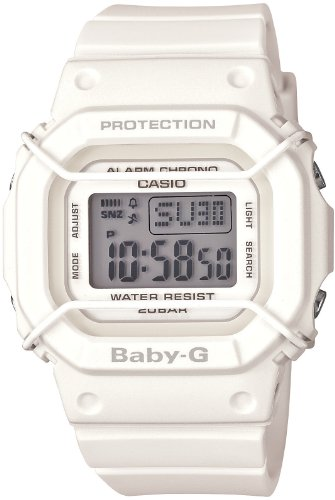 [カシオ] 腕時計 ベビージー BGD-501-7JF ホワイト