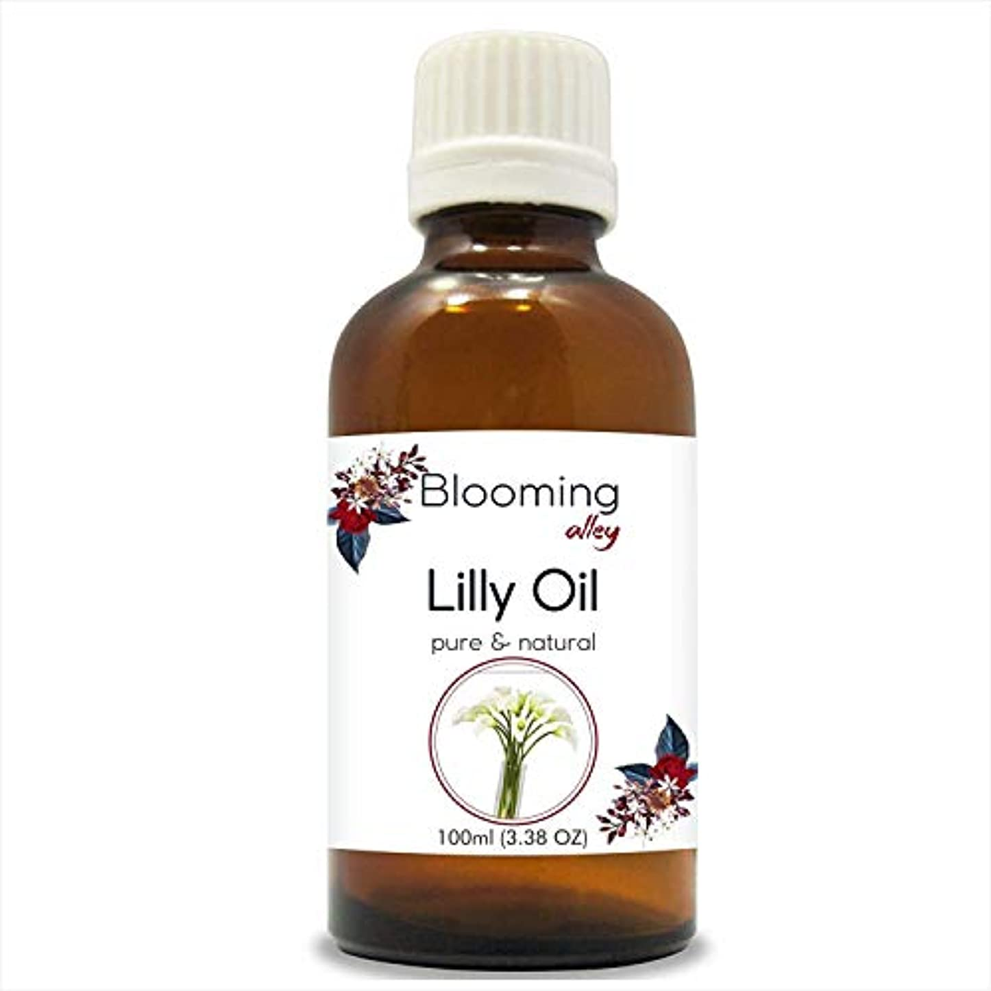 瞑想暗記するおもちゃLilly Oil (Lilium Auratum) Essential Oil 30 ml or 1.0 Fl Oz by Blooming Alley