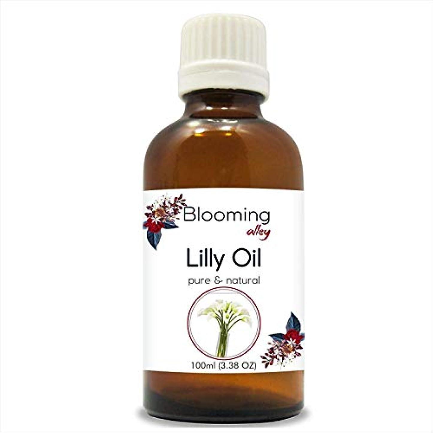 Lilly Oil (Lilium Auratum) Essential Oil 30 ml or 1.0 Fl Oz by Blooming Alley