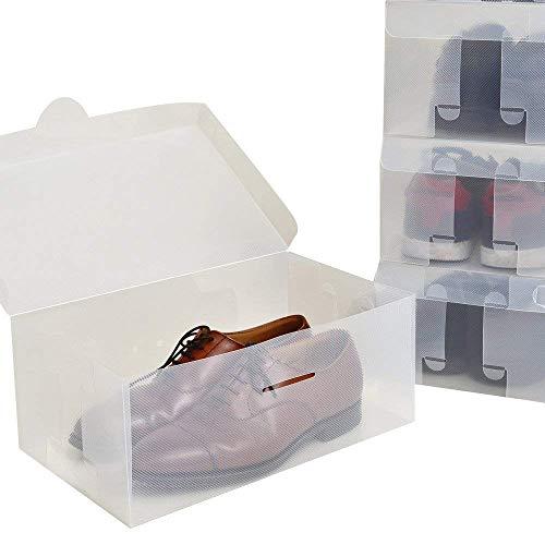 【8箱入り】シューズボックス 透明クリアーケース