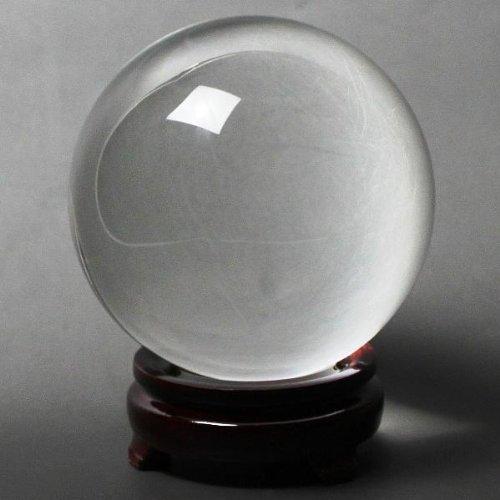 人工 (溶錬) 水晶玉 110mm