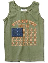 [ナーナッド] 1420289 プリント タンクトップ トップス 男の子 ボーイズ キッズ 子供服 ノースリーブ アメリカ