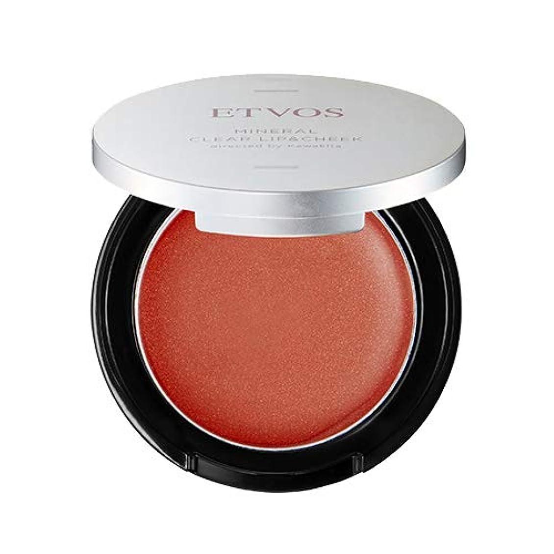 原始的な美容師体操ETVOS(エトヴォス) ミネラルクリアリップ&チーク #ネーブルオレンジ 2.5g ツヤ/唇兼用 【河北裕介コラボ】