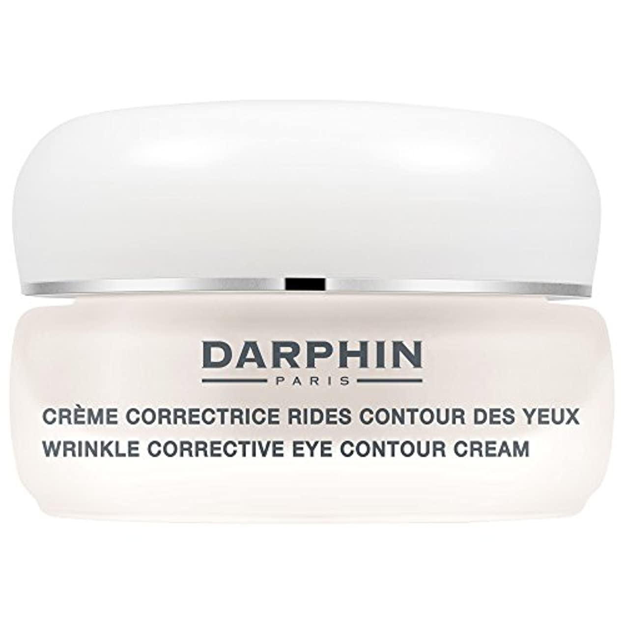 ドメイン控えめなモーテルダルファンのシワ矯正アイ輪郭クリーム15ミリリットル (Darphin) (x2) - Darphin Wrinkle Corrective Eye Contour Cream 15ml (Pack of 2) [並行輸入品]