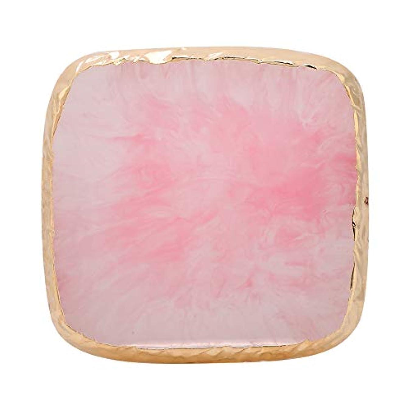バスドットトラックネイルアートディスプレイスタンド 樹脂 ネイルアートジェル ディスプレイホルダー ネイルアートツール サロン アクセサリー ネイルポリッシュカラー (ピンク)