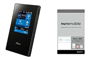 NEC Aterm MR04LN PA-MR04LN(nuroモバイル マイクロSIM付) 130219