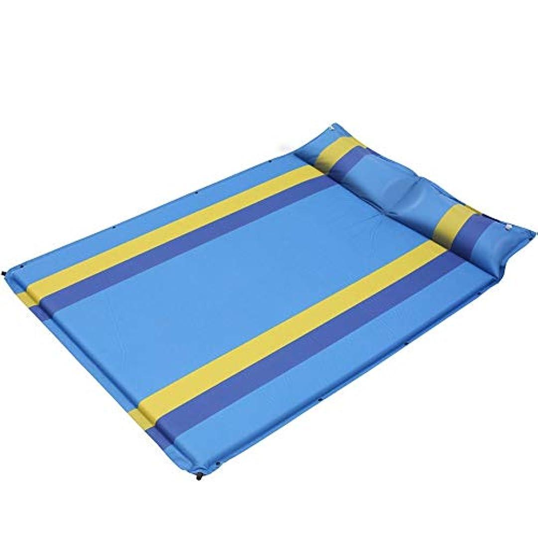 アンプ襲撃机旅行やキャンプ用シートの寝袋 - 軽量コンパクトでポータブルな大人 - 旅行、ホステル、キャンプに最適 (色 : 青, サイズ : 190*132cm)