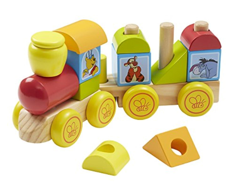 Melissa & Doug Disney Baby Winnie The Pooh Wooden Stacking Train ( 14個)