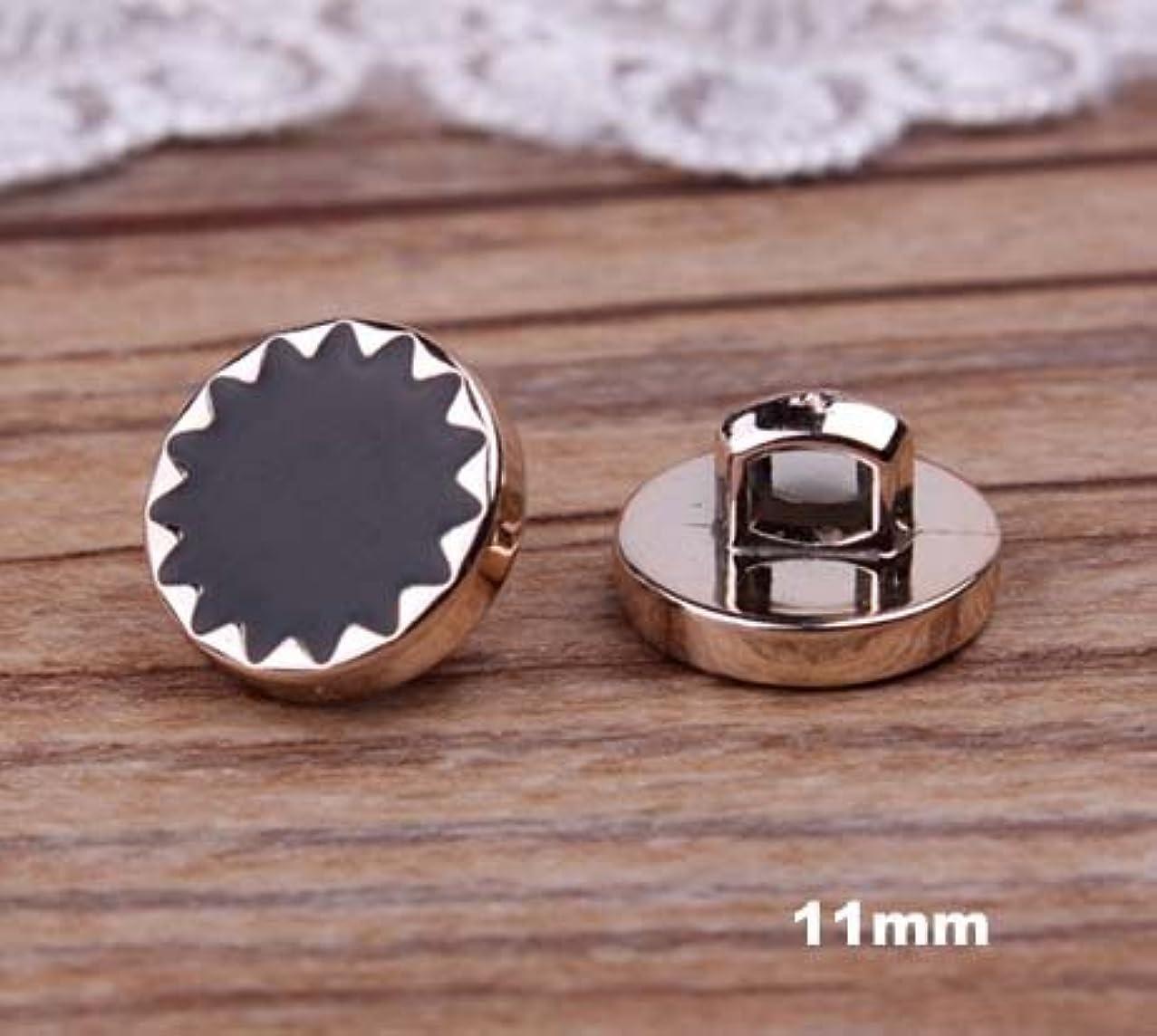 器官ライトニングメタリックPropenary - 30個/ロットプラスチックボタン、ゴールドカラーメッキ縫製スターボタン、アパレル、アクセサリー(AA-45)