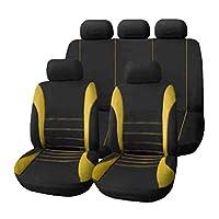 9本/セット車のシートカバー快適な防塵シートプロテクターパッドカバー自動車用フルシートカバーユニバーサル