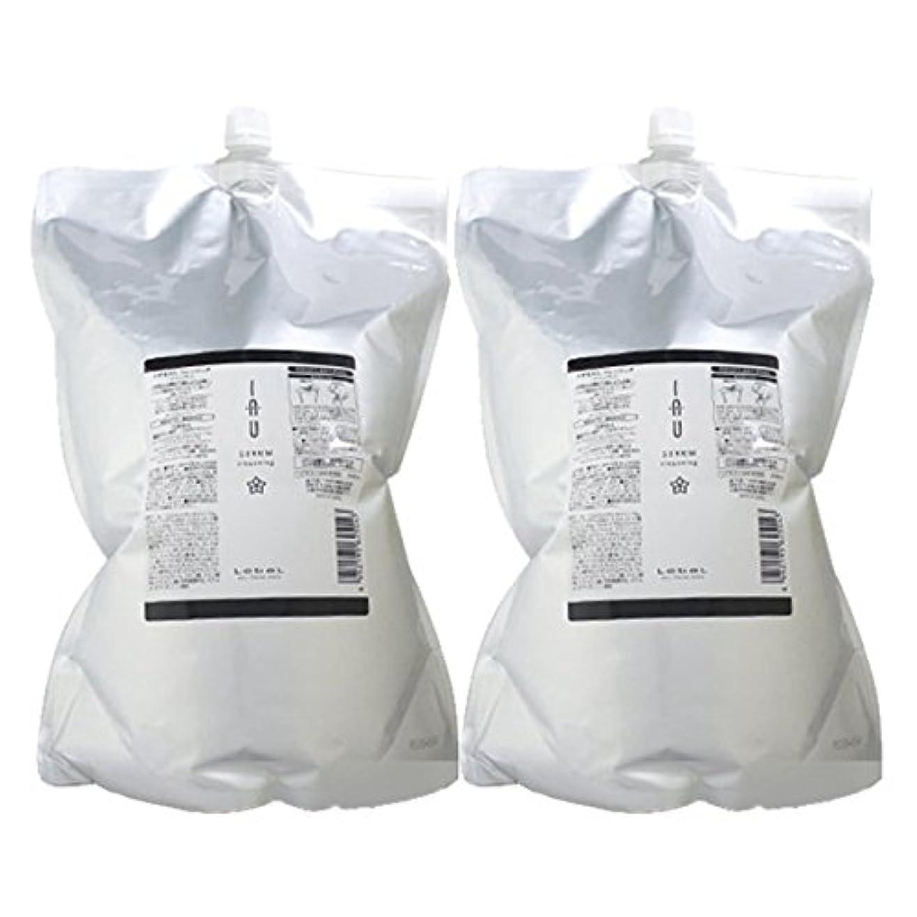 お酒せがむヨーグルトルベル イオ セラム クレンジング(シャンプー) 2500mL × 2個セット lebel iau serum