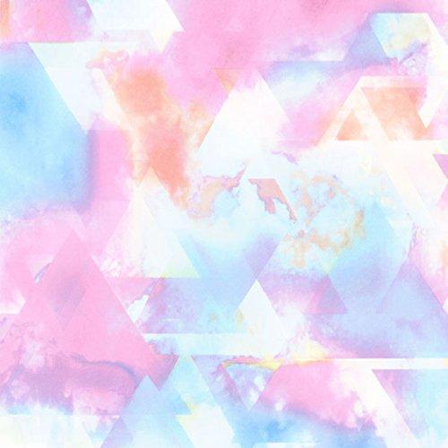 ICEPARDAL(アイスパーダル) 全20色柄 レディース ラッシュガード パーカー IR-7200 TRI-PNK WMサイズ 長袖 ラッシュパーカー UVカット UPF50 + 指穴つき おしゃれ かわいい 人気 女性用 体型カバー 水着 タイダイ柄 ピンク