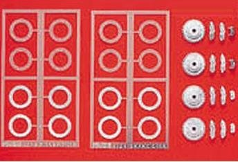 ディティールアップシリーズ Dup-17 1/24ブレーキディスクセット