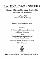 Excitation Functions for Charged-Particle Induced Nuclear Reactions / Anregungsfunktionen fuer Kernreaktionen mit geladenen Projektilen (Landolt-Boernstein: Numerical Data and Functional Relationships in Science and Technology - New Series)