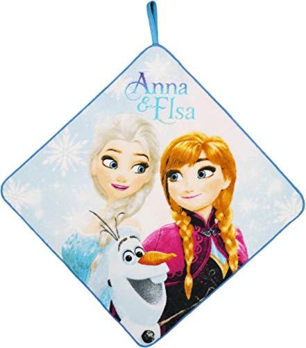 丸眞 ループタオル ディズニー アナと雪の女王 33×33c...