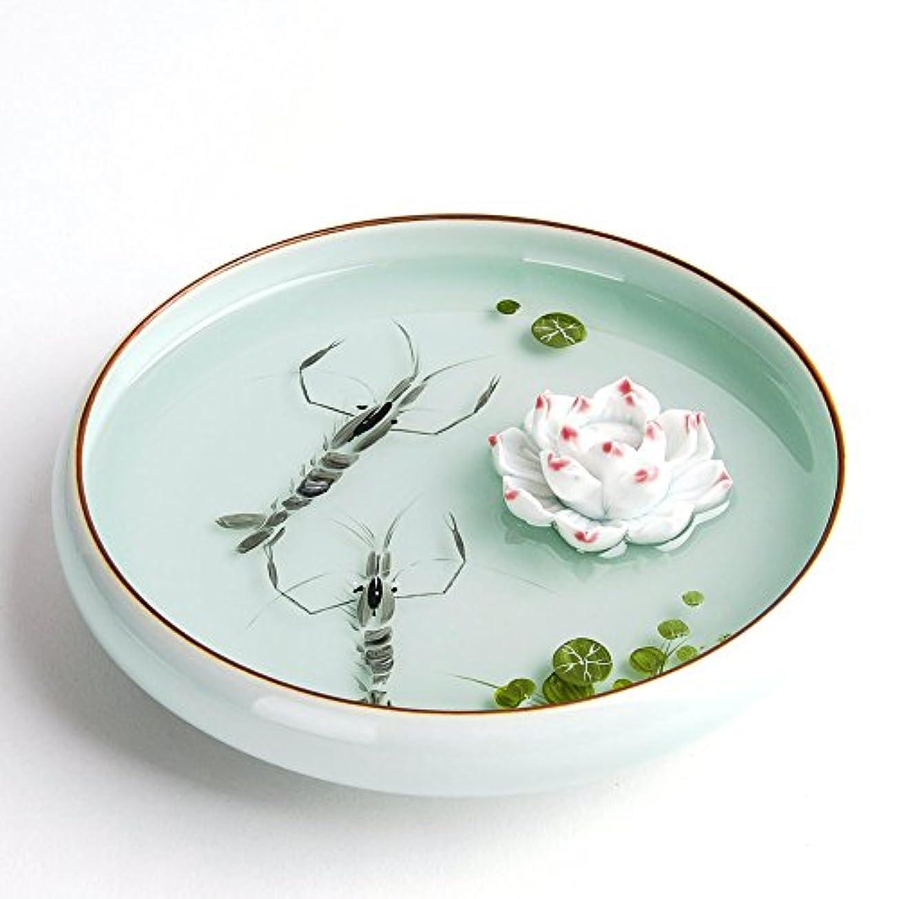 適格肥沃な異なるおしゃれ お香立て お香たて 香の器 お香を焚いて 香皿,陶磁器、白