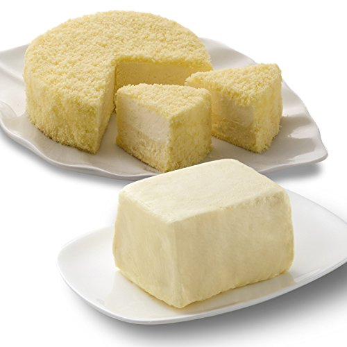 ルタオ (LeTAO) チーズケーキ 奇跡の口どけセット (ドゥーブルフロマージュ パフェ ド フロマージュ)