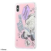 iPhone XS MAX/ディズニー キャラクター/TPU ケース+背面パネル/アラジン/Love is true magic IJ-DP19TP/AL013
