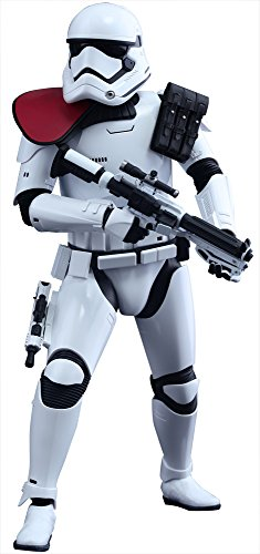Star Wars Hot Toys MMS 334 First order Stormtrooper Officer Japan NEW