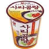 【BOX販売】農心 サリコムタンカップ麺(小) 61g X 30個入■韓国食品■冷麺/春雨/ラーメン■農心