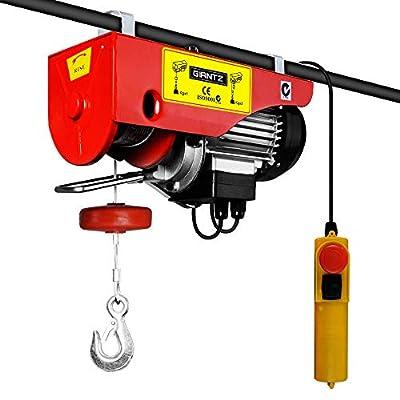 300/600kg 1200 W Electric Hoist Winch