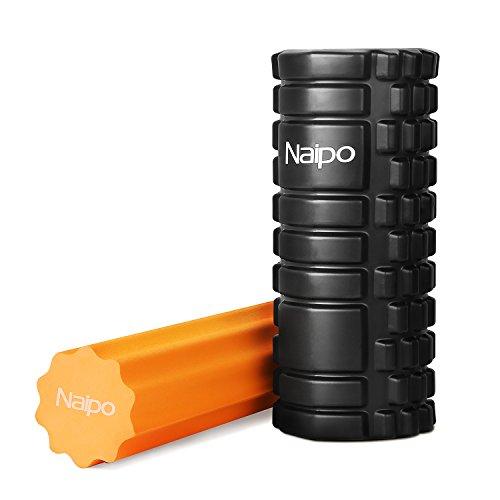 Naipo フォームローラー ヨガポール 2in1セット トレーニング 筋筋膜リリース ストレッチ 姿勢改善