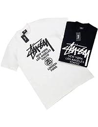 ステューシー Tシャツ 半袖 STUSSY メンズ レディース クルーネック コットン トップス ユニセックス