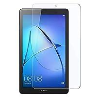 Huawei MediaPad T3 7 ガラスフィルム AnnTec 9H硬度 0.3mm 2.5Dラウンドエッジ加工 高感度 高透過率 飛散防止 指紋防止 MediaPad T3 7 保護フィルム