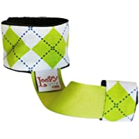 Loopy Gear Baby Rattle Holder ~ Choose Pattern (Ambitious Argyle Lime) by Loopy Gear