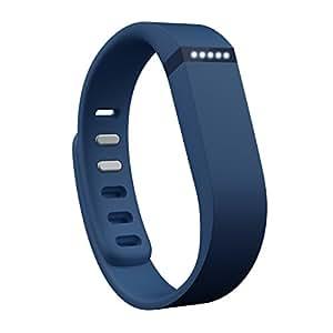 Fitbit フィットビット フィットネスリストバンド Flex 歩数 睡眠 健康管理 活動量計 アクティブトラッカー Navy ネイビー S L 2サイズ同梱  【日本正規品】 FB401NV-JPN