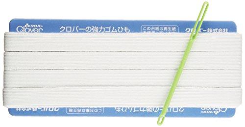 Clover 強力替えゴム 12コール 白 26-062