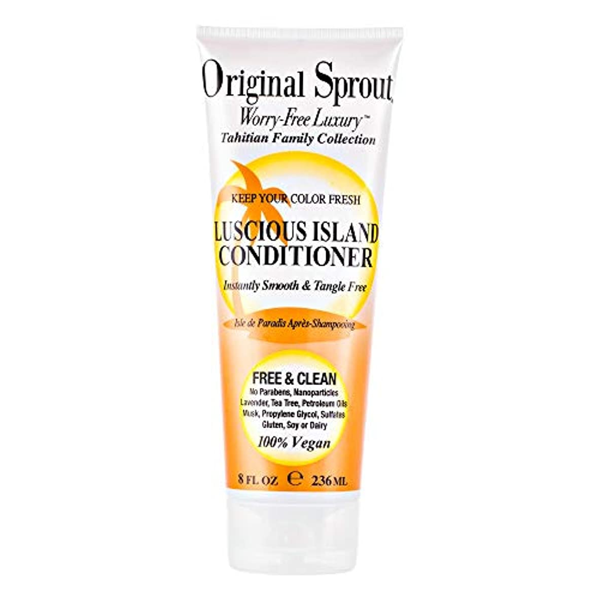 ピンポイント眉閉じるOriginal Sprout Luscious Island Conditioner-8oz. by Original Sprout