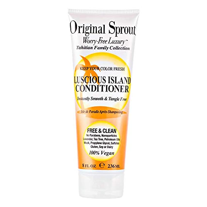 曲線リスク永遠にOriginal Sprout Luscious Island Conditioner-8oz. by Original Sprout