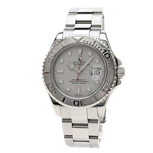 [ロレックス]ヨットマスター 腕時計 ステンレススチール/SS/プラチナ メンズ (中古)