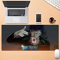 オフィス、ゲーム、ホームの拡張コンピュータのキーボードデスクパッドのマット多機能大型ゲーミングマウスパッドノンスリップラバーベースステッチエッジ QDDSP (Color : F, Size : 4mm)