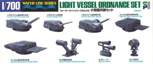 1/700 ウォーターライン No.518 小型艦兵装セット