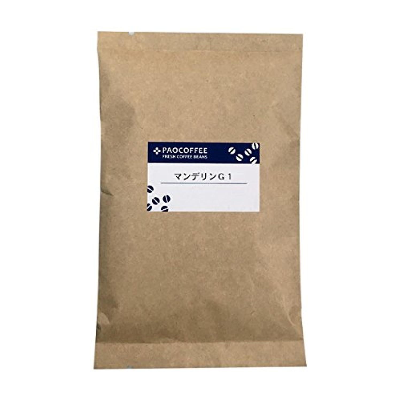 【自家焙煎コーヒー豆】【中煎り】 マンデリン?G1/ 100g (豆のまま)