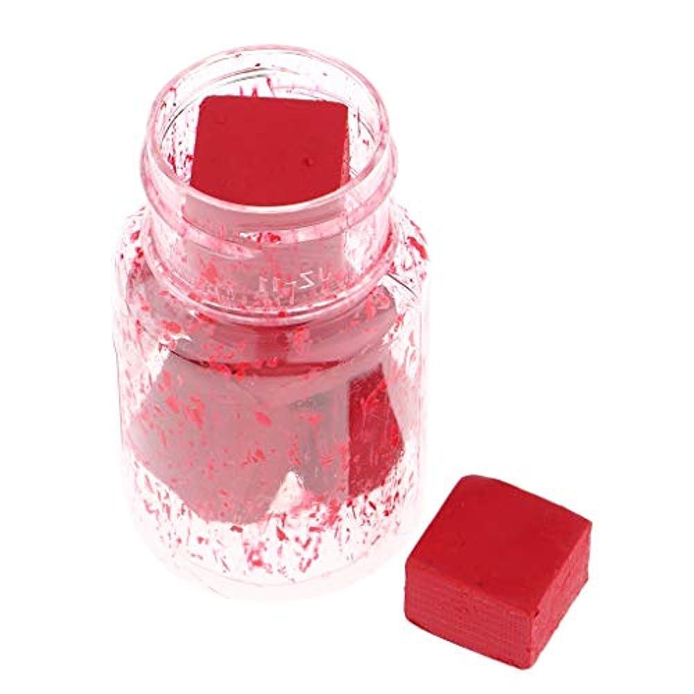 ウォーターフロントペストリー統計口紅の原料 リップスティック顔料 DIYリップライナー DIY工芸品 9色選択でき - C